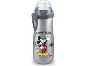 Dětská láhev NUK Sports Cup Disney Cool Mickey 450 ml grey
