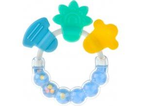 Chrastítko-kousátko Akuku modré