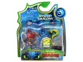 Draci 3 dragon sberatelske figurky mrakoslap prekvapeni