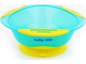 Dětská protiskluzová miska Baby Mix modrá