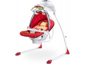 Dětská houpačka CARETERO Bugies red