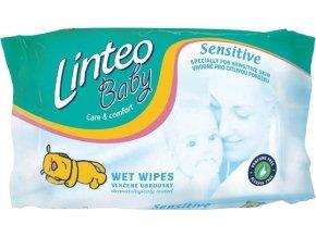 Vlhčené ubrousky Linteo Baby 64 ks Sensitive