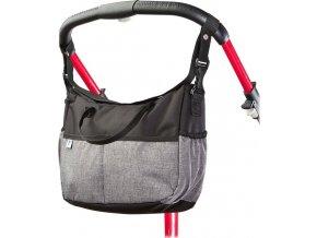 Taška na kočárek CARETERO Deluxe black-grey