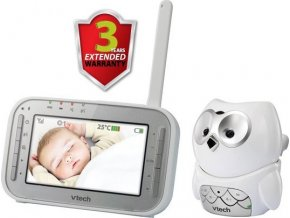 "Video chůvička 4,3"" Vtech BM4300 Sovička"