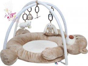 Luxusní hrací deka s melodií PlayTo medvídek