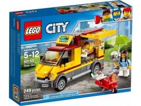 LEGO City 60150 Dodávka s pizzou
