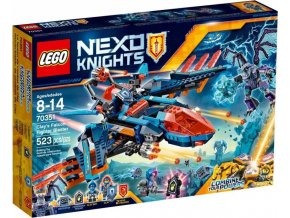 LEGO Nexo Knights 70351 Clayův letoun Falcon Fighter Blaster