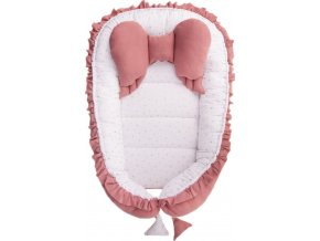 Hnízdečko pro miminko Belisima Angel Baby růžové