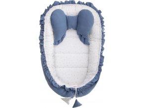 Hnízdečko pro miminko Belisima Angel Baby modré