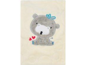 Dětská deka Koala Animals smetanová