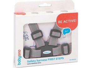 Náhradní bezpečnostní pásy do kočárku Baby Ono světle šedé