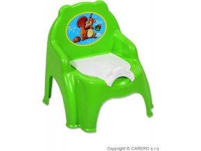 Dětský nočník zelený