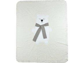 Dětská deka Koala Polar Bear béžová