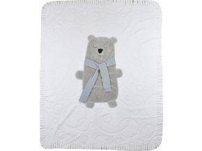Dětská deka Koala Polar Bear bílá