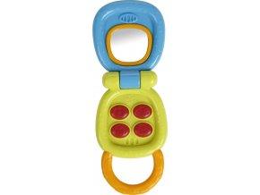 Bright Starts Hračka aktivní telefon My Little Flip™ 3m+