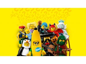 LEGO Minifigurky 71013 Confidential Minifigures Sept. 2016