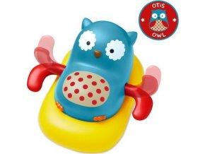 Skip Hop Zoo hračka plovoucí a pádlující sovička 12m+