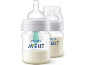 Kojenecká láhev Avent Anti-colic s ventilem AirFree 125 ml 2ks