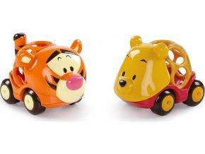 Disney baby Hračka autíčka Winnie The Pooh&Friends Go Grippers™ 2ks, 12m+
