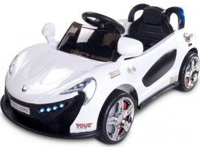 Elektrické autíčko Toyz Aero - 2 motory a 2 rychlosti bílé