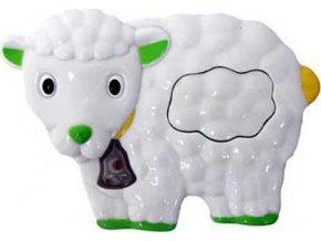 Dětská hračka se zvukem Baby Mix ovečka