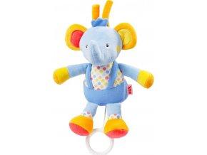 Dětská plyšová hrající hračka Nuk sloník