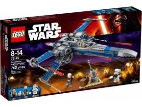 LEGO Star Wars 75149 Stíhačka X-wing Odporu