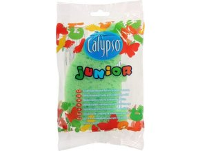 Koupelová houba Junior Animal Calypso zelená