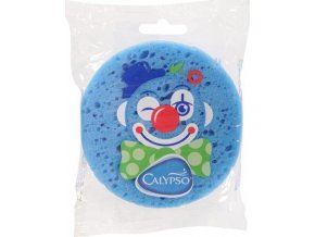 Koupelová houba Klaun Calypso modrá