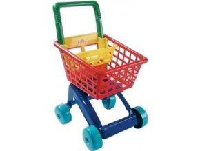 Dětský nákupní košík - červený