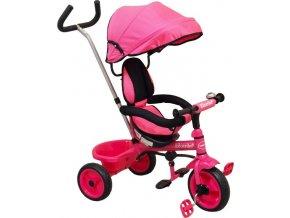 Dětská tříkolka Baby Mix Ecotrike pink