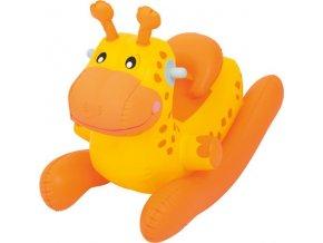 Dětské nafukovací houpací zvířátko Bestway oranžové