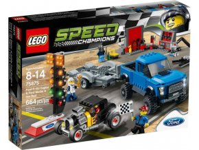 LEGO Speed Champions 75875 Ford F-150 Raptor a Ford Model A Hot Rod