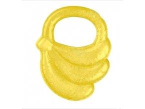 BabyOno Kousátko chladící banán - žlutá