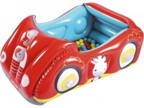 Dětské nafukovací autíčko Fisher-Price s míčky