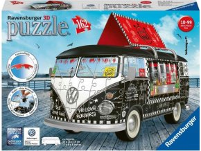 Ravensburger 12525 Puzzle 3D VW autobus T1 Food Truck, 162d.