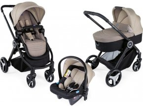 Chicco Kočárek trojkombinace Chicco Trio Best Friend Light - Beige