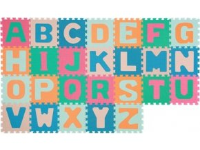 BabyOno Puzzle pěnové - abeceda 26 ks 6m+