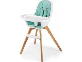 Jídelní stolička 2v1 Tixi Turquoise 2019