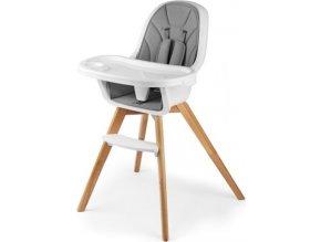 Jídelní stolička 2v1 Tixi Grey 2019