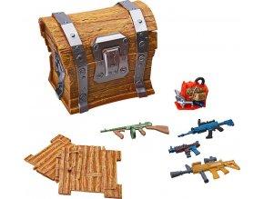 Fortnite Loot chest sběratelské doplňky pro 10cm figurky, 7ks D