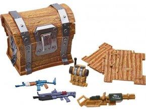 Fortnite Loot chest sběratelské doplňky pro 10cm figurky 6ks C