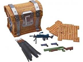 Fortnite Loot chest sběratelské doplňky pro 10cm figurky 7ks B