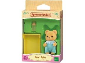 Sylvanian Families 3424 Medvědí miminko modré