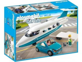 PLAYMOBIL® 9504 Soukromý tryskáč s kabrioletem