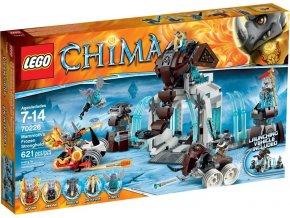 LEGO Chima 70226 Mamutí ledová pevnost