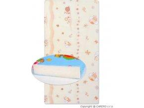 Dětská pěnová matrace béžová - různé obrázky