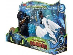 Draci 3 Dragon draci se svítícím krystalem