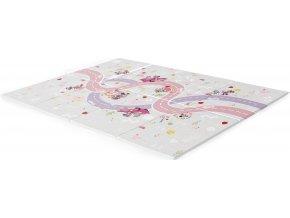 Disney baby Podložka pěnová skládací Minnie Mouse 120 x 89cm 0m+