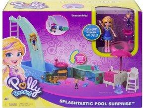 Polly Pocket Bazén se skluzavkou
